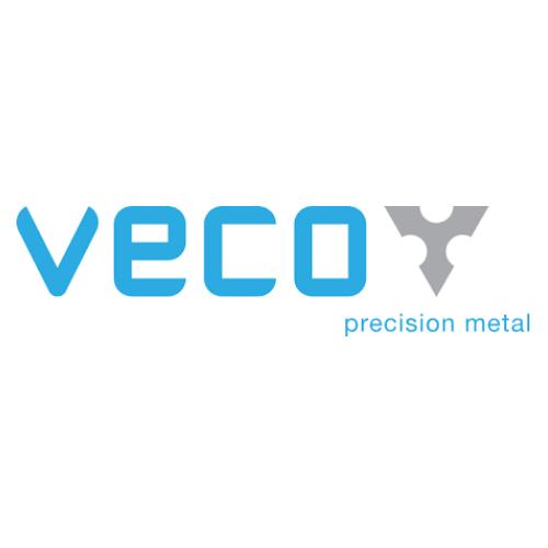 Veco precision metal logo