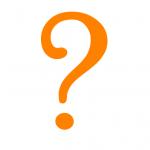 Oranje-vraagteken